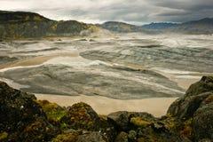 De gletsjer van Vatnajokull, IJsland Royalty-vrije Stock Afbeelding