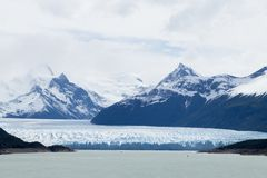 De gletsjermening van Peritomoreno, het landschap van Patagoni?, Argentini? royalty-vrije stock foto's