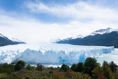 De gletsjermening van Peritomoreno, het landschap van Patagoni?, Argentini? stock foto