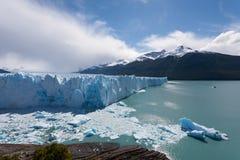 De gletsjermening van Peritomoreno, het landschap van Patagoni?, Argentini? stock afbeeldingen