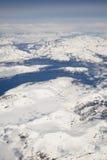 De gletsjers van Alaska royalty-vrije stock afbeelding