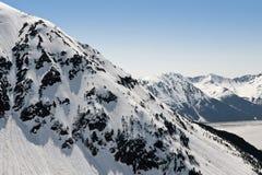 De gletsjers van Alaska stock fotografie