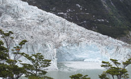 De gletsjertong van Peritomoreno argentinië 3d zeer mooie driedimensionele illustratie, cijfer Royalty-vrije Stock Fotografie