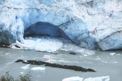 De gletsjertong van Peritomoreno argentinië 3d zeer mooie driedimensionele illustratie, cijfer Royalty-vrije Stock Afbeelding