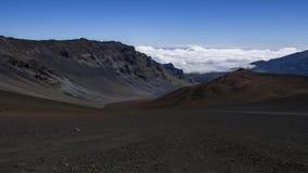 De glidande vulkansanderna arkivfoton