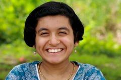 De glimlach glanst Royalty-vrije Stock Foto