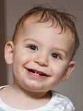 De glimlach van de baby Stock Afbeeldingen