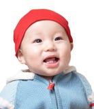 De glimlach van de baby Stock Afbeelding