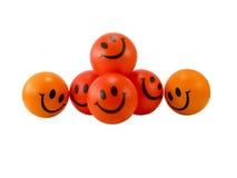 De glimlach van de bal Stock Afbeeldingen