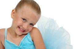 De Glimlach van de ballerina royalty-vrije stock afbeelding