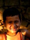 De Glimlach van de close-up royalty-vrije stock foto's