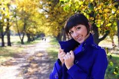 De glimlach van de herfst Royalty-vrije Stock Afbeelding