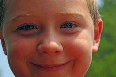 De Glimlach van de zonneschijn Stock Afbeeldingen