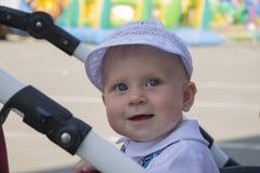 De glimlach van een baby Royalty-vrije Stock Foto