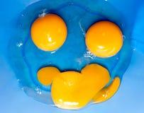 De glimlach van eieren Stock Fotografie