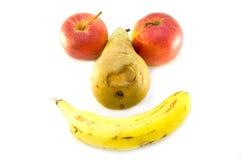 De glimlach van het fruit Stock Foto
