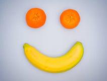 De glimlach van het fruit royalty-vrije stock afbeeldingen
