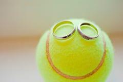 De glimlach van het huwelijk Stock Afbeelding