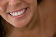 De Glimlach van het meisje Stock Afbeelding