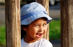 De glimlach van het meisje stock foto