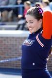 De glimlachen van de Bucknellbizon cheerleader Stock Afbeeldingen