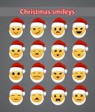 De glimlachen van de Kerstmisvakantie Stock Fotografie