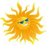 De glimlachen van The Sun Stock Fotografie