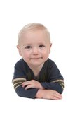 De glimlachende Gelukkige Jongen van de Baby royalty-vrije stock foto