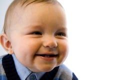 De glimlachende Jongen van de Baby royalty-vrije stock afbeeldingen