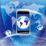 De globale Apparatuur van de Technologie Royalty-vrije Stock Foto's