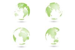 De globale wereld Stock Foto's