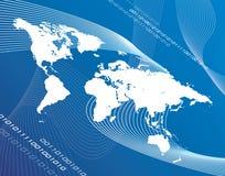 De Globalisering van de wereld Stock Foto's