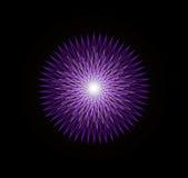 De Gloed van Mandala Stock Afbeeldingen