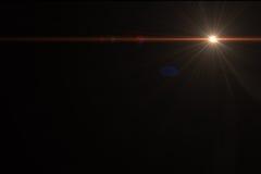 De gloedeffect van de lens Stock Foto's