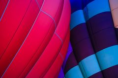 De gloedfestival van de hete luchtballon stock foto