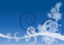 De gloedkristallen van Kerstmis Royalty-vrije Stock Foto