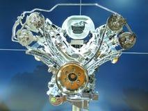 De gloednieuwe Blootgestelde Motor van de Motor Stock Foto