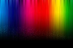 De gloeiende achtergrond van het spectrum. Royalty-vrije Stock Foto's