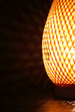 De gloeiende Lamp van het Bureau Royalty-vrije Stock Afbeeldingen