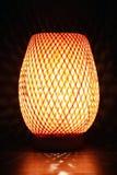 De gloeiende Lamp van het Bureau Stock Foto