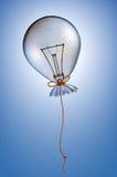 De gloeilamp van de ballon Royalty-vrije Stock Afbeelding