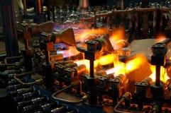 De gloeilamp van de productie stock foto's