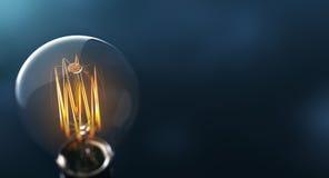 De gloeilamp van Edison vector illustratie