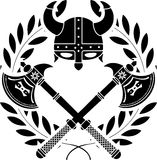 De glorie van Viking vector illustratie