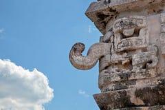 De God Chaac van de regen van Mayans in Mexico royalty-vrije stock foto