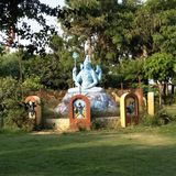 De god in India shiv Sanker bhole nath stock fotografie