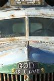 De god is Liefde, Reddingsberg Stock Afbeeldingen