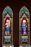De god is op het glas Stock Afbeelding