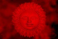 De God van de zon Stock Fotografie