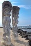 De Goden van Tiki Royalty-vrije Stock Afbeeldingen
